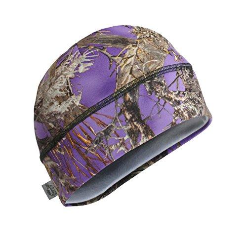Turtle Fur Camo - Comfort Shell Brain Shroud, Lightweight Performance Beanie, TrueTimber MC2 Purple (Turtle Fur Lightweight Hat)