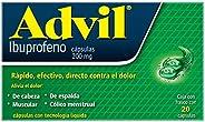Advil Analgésico Fastgel 200 mg Dolores Leves Caja con 20 cápsulas