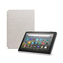 Amazon Fire HD 8 Cover, compatible with 10th generation tablet, 2020 release, Sandstone White