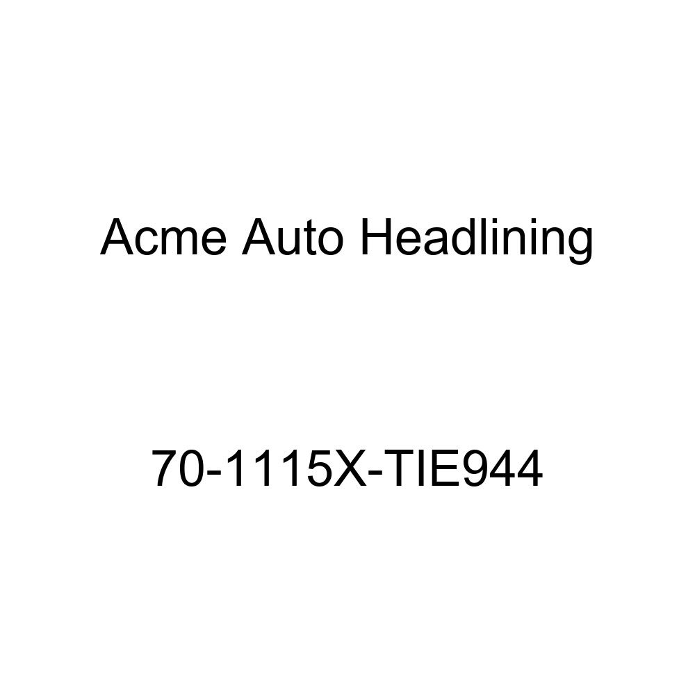 Acme Auto Headlining 70-1115X-TIE944 White Replacement Headliner Conversion 70 Buick Electra 4 Dr Hardtop w//Original Board Headliner