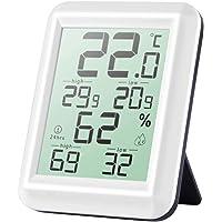 Termohigrometro Higrometro Digital, Profesional 2s de Respuesta Rápida Temperatura y Humedad Medidor para Casa…