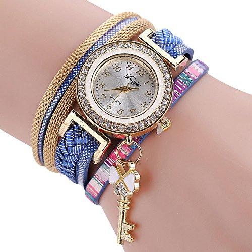 Inkach The Sleek Stylish And Chic Knit Bracelet Watch Women and Girls Decorative - Stylish Chic