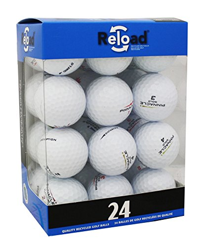 Pinnacle Reload Recycled Golf Balls (24-Pack) Golf Balls