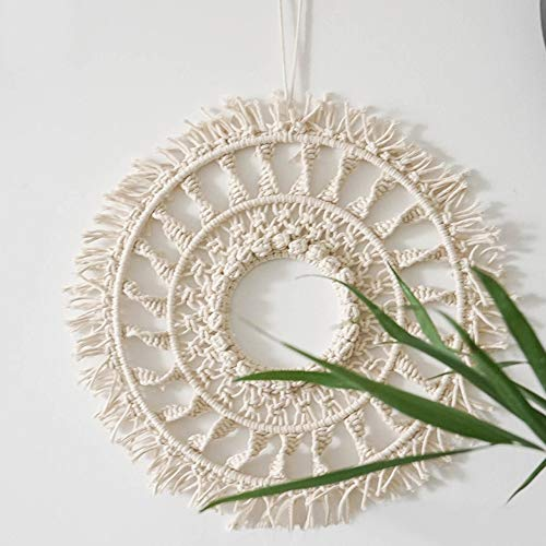 LSHCX Wall Hanging Macrame Boho Home Wall Decor, 15.7 Inch by LSHCX