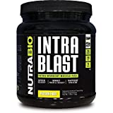 NutraBio Intra Blast Workout Muscle Fuel - Passion Fruit 1.6lbs