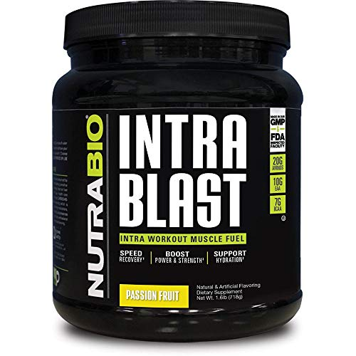 Cheap NutraBio Intra Blast Workout Muscle Fuel – Passion Fruit 1.6lbs