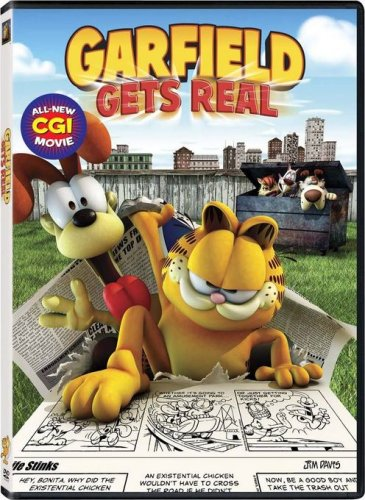Amazon Com Garfield Gets Real Frank Welker Rajia Baroudi Gregg Berger Jennifer Darling Greg Eagles Pat Fraley Jason Marsden David Michie Harold Perrineau Neil Ross Stephen Stanton Fred Tatasciore Kyung Ho Lee Mark