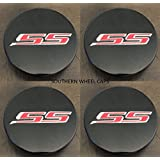 4pcs SET 2016-2018 Chevy Camaro Center Wheel hub Caps Set of 4 BLACK 19351757