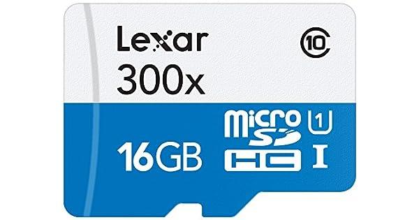 Amazon.com: Tarjeta MicroSDHC 2 Lexar de alto rendimiento ...