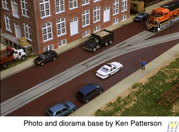 Street Track (Walthers Cornerstone Street Track Insert Set)