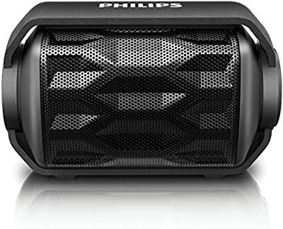 Philips Shoqbox Mini Wireless Water Resistant Portable Speaker