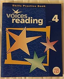 Book Voices Reading, Grade 4: Skills Practice Book