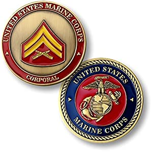 U.S. Marine Corps Corporal Challenge Coin by Armed Forces Depot