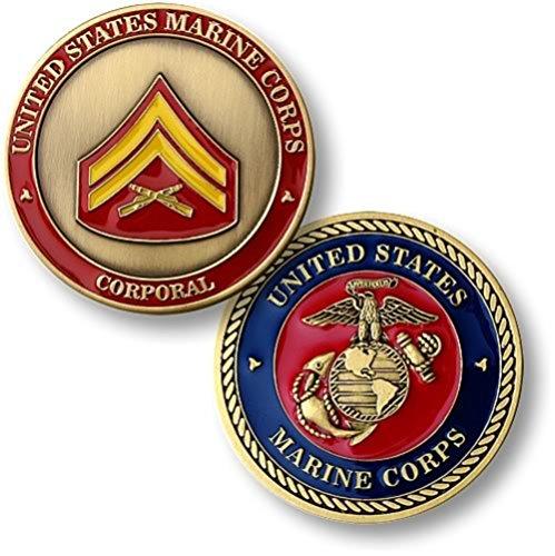 U.S. Marine Corps Corporal Challenge Coin ()