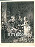Antique Print A Visit to the Armourer (AJL-070)