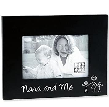 Amazoncom Nana And Me Ebony Black Keepsake Frame 4x6 Baby