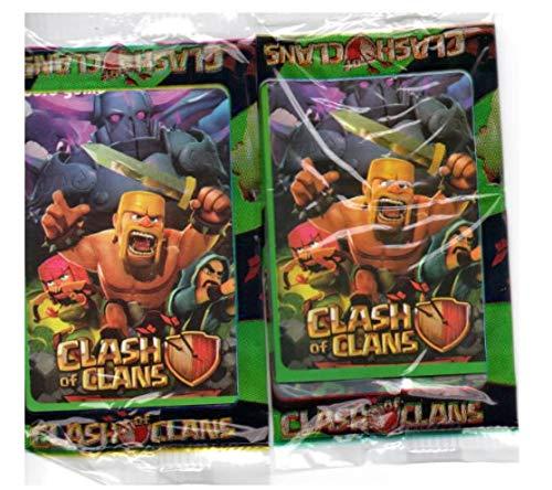 48 cards cartões cartas figurinha Clash of Clans FRETE GRATIS