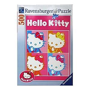 Ravensburger Italy Puzzle 500 Pezzi Hello Kitty Multicolore 4005556141036