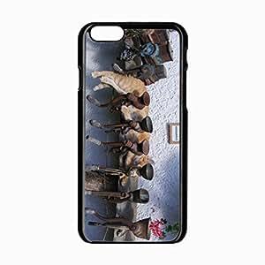 iPhone 6 Black Hardshell Case 4.7inch grinder metal Desin Images Protector Back Cover