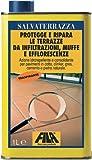 Protettivo idrorepellente e Consolidante per Pavimenti Fila Salvaterrazza 1 Litro