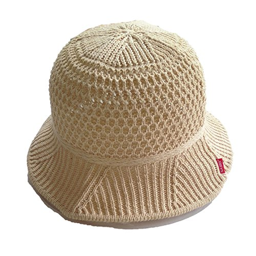 (COOL JULY Spring and Summer Solid Color Ladies Temperament Cotton Visor Hat Folding Fisherman Hat Basin Cap,Pink)