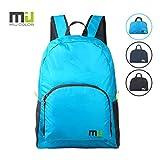 MIU COLOR Foldable Durable Lightweight Backpack, Packable Waterproof Daypack, Blue