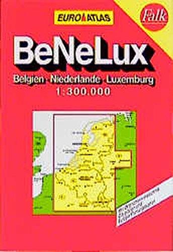RV Euro-Reiseatlas 1:300 000 Benelux - Belgien, Niederlande, Luxemburg (Englisch) Taschenbuch – 25. August 1995 Reise- Und Verkehrsverlag RV Verlag Ostfildern 3575228515