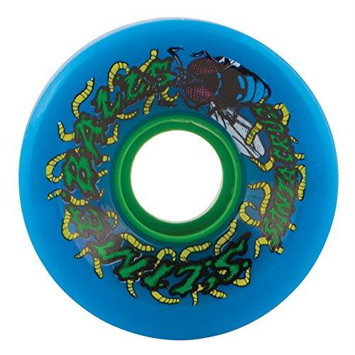 Santa Cruz Skate Slime Balls Maggots 78A Skateboard Wheel  Blue  60Mm