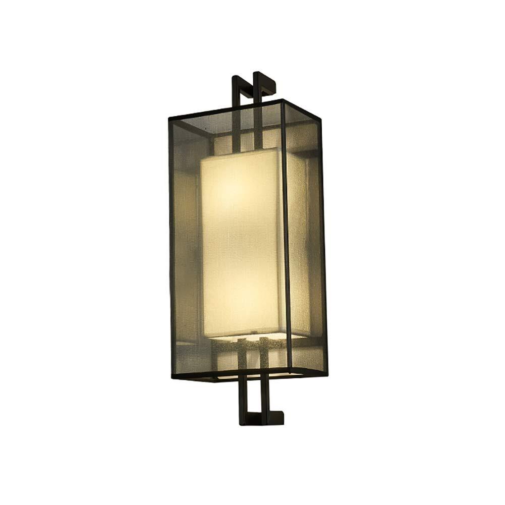 Tuch Wandleuchte Schlafzimmer, E27 Minimalismus Wandlampe Weiches licht Wandhalterung Wandbeleuchtung Leuchte 4 Licht Für Gang Flur 80x18cm (31.5x7in)-C