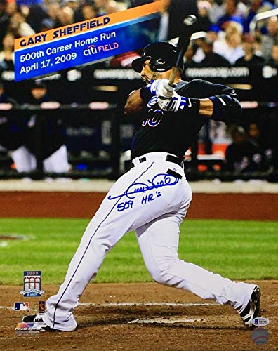 New York Mets 16x20 Photo - Gary Sheffield Signed New York Mets 16x20 Photo