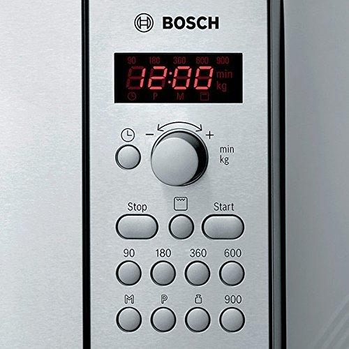 Bosch HMT84G451, Acero inoxidable, 513 x 408 x 305 mm, 17000 g - Microondas: Amazon.es: Hogar