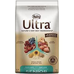 Nutro Ultra Senior Dry Dog Food (our Best Dog Food Brand for Senior Dogs)