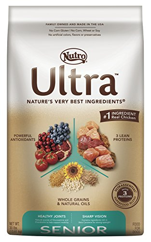 Nutro ULTRA Senior Dry Dog Food, 30 lbs. (Dog Boutique Online)