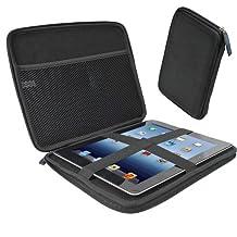 "iGadgitz Black EVA Travel Hard Case Cover Sleeve for Apple iPad 2, 3, 4 With Retina, Air 2013, Air 2 & Pro 9.7"" 2016"