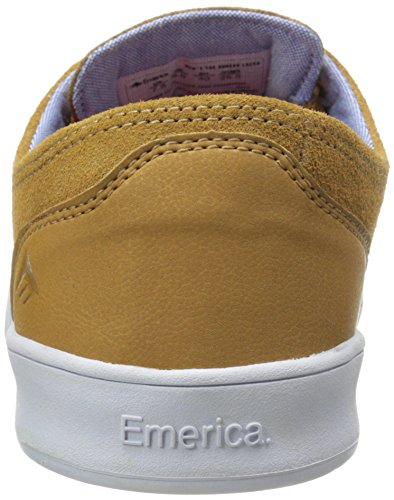 Brown White Skate Emerica Shoe Romero Brown Laced vwTW4BqF