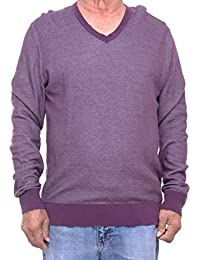 "<span class=""a-offscreen"">[Sponsored]</span>Men's Cotton V-Neck Sweater"