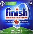 Finish All In 1 Powerball, Fresh 54 Tabs, Dishwasher Detergent Tablets from Reckitt Benckiser