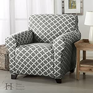 Delightful Home Fashion Designs Form Fit, Slip Resistant, Stylish Furniture Cover/Protector  Featuring Lightweight