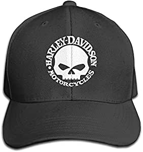 Walter Margaret Harley Davidson Skull Men and Women Black ...