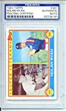 Nolan Ryan 1983 Topps Houston Astros Autographed Trading Card - Certified Authentic