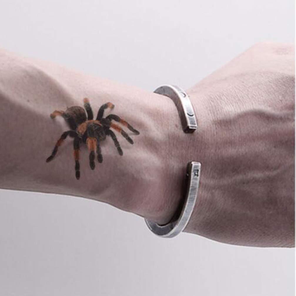 Holibanna 4 Piezas Pegatinas de Tatuaje de Halloween escorpión ...