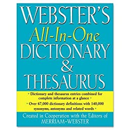 MERFSP0471 - All-In-One Dictionary/Thesaurus