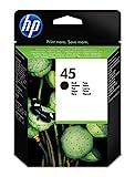 HP 45 Black Ink Cartridge (51645A)