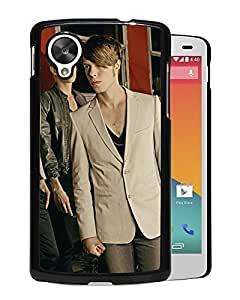 Beautiful Designed Cover Case With A Silent Epress Band Look Haircut Jacket For Google Nexus 5 Phone Case