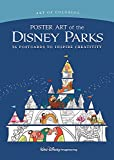 Art of Coloring: Poster Art of the Disney Parks: 36 Postcards to Inspire Creativity