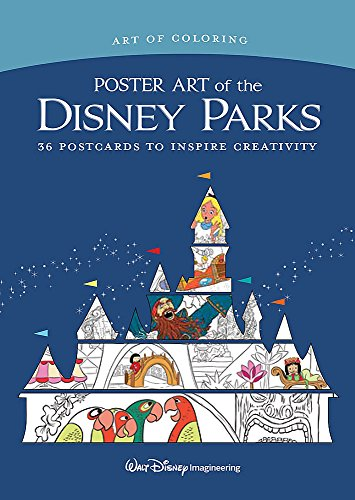 Art of Coloring: Poster Art of the Disney Parks: 36 Postcards to Inspire -