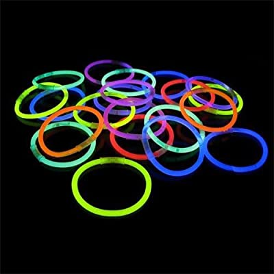 "Crown Display 1000 8"" Glow Light Stick Bracelets Wholesale Pack…: Toys & Games"