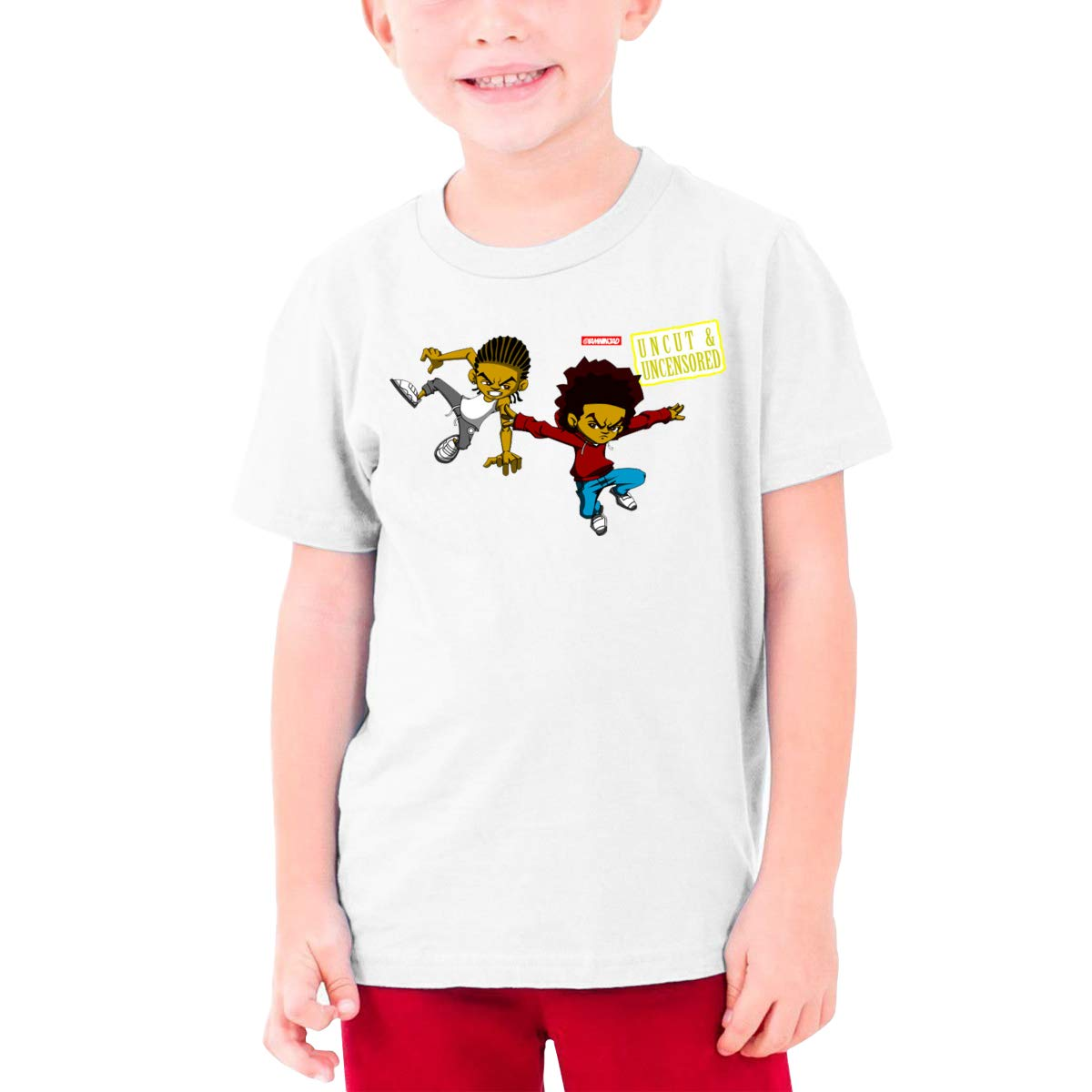 Teenage T-Shirt,Boys T-Shirts,Girls T-Shirts White QIMING SHIPPING Freeman Bros