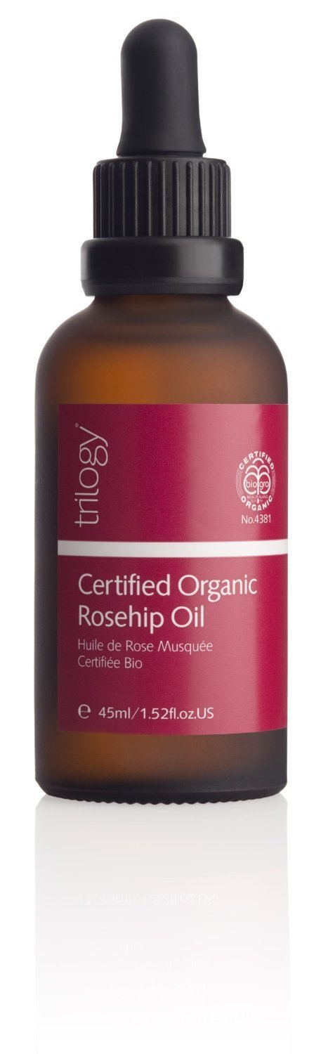 2 pack Trilogy Certified Organic Rosehip Oil - 45ml - Made in New Zealand