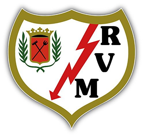 fan products of Rayo Vallecano FC Spain Soccer Football Art Decor Vinyl Sticker 5'' X 5''